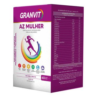 Granvit A-Z Mulher Polivitamínico com 60 cápsulas