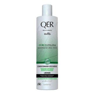 Griffus QÉR Beauty Cosmetics Curly Styling Condicionador 1L