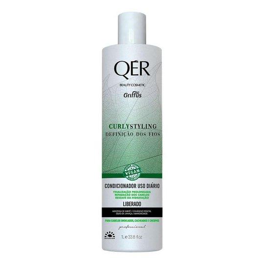 Griffus QÉR Beauty Cosmetics Curly Styling Condicionador 1L - Incolor