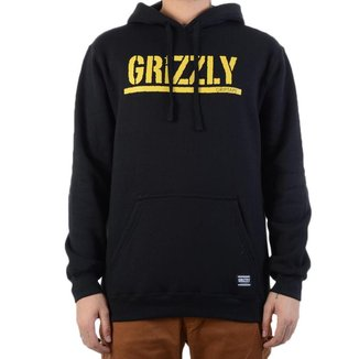 GRIZZLY Moletom Grizzly Stamped Hoodie