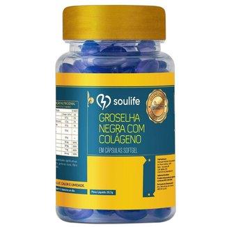 Groselha Negra com Colágeno e Vitaminas 700mg - 60 Cáps - Soulife