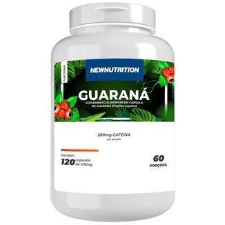 Guaraná 120 caps NewNutrition