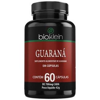 Guaraná  60 Cápsulas  Bioklein