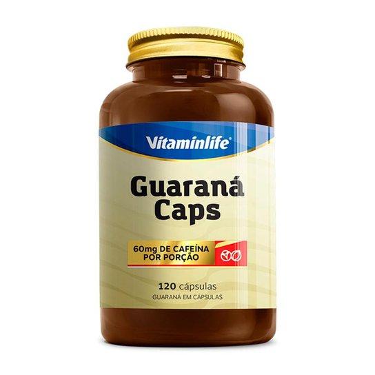 Guaraná Caps - 120 Cápsulas - Vitaminlife -