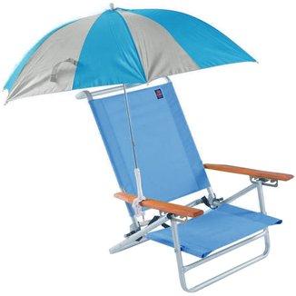 Guarda-Sol Para Cadeira Chinelos e Sandálias Clap Azul com Cinza