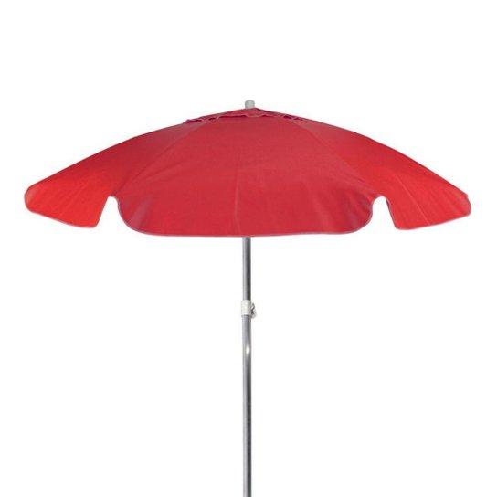 Guarda Sol Summer Bagum 2M FPS 100 Bel Lazer - Vermelho