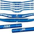 Guidão Bike Spank Spike 800 Race 31.8mm Rise 30mm Azul