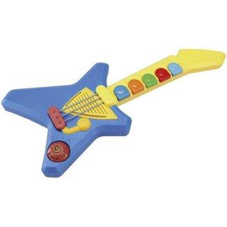 Guitarra de Brinquedo Mundo Mágico Maluca