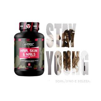 Hair Skin Nails - Cabelo Pele e Unha 60Caps Evorox Nutrition