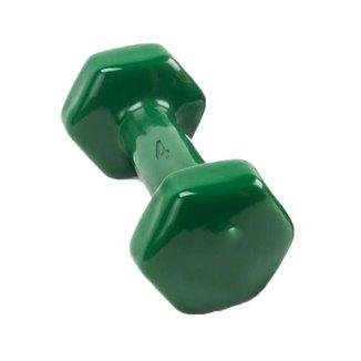 Halter Sextavado 4Kg Peso Musculação Bravus Sport