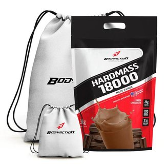Hardmass 18000 3Kg + Mochila - Body Action (Chocolate)