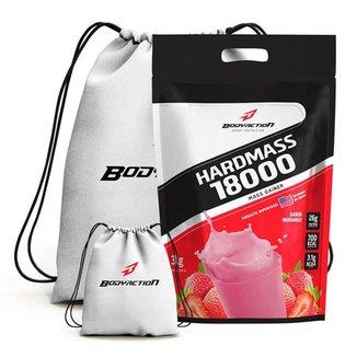 Hardmass 18000 3Kg + Mochila - Body Action (Morango)