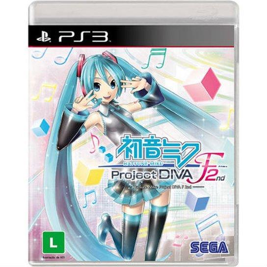 Hatsune Miku: Project Diva F 2Nd - PS3 - Incolor