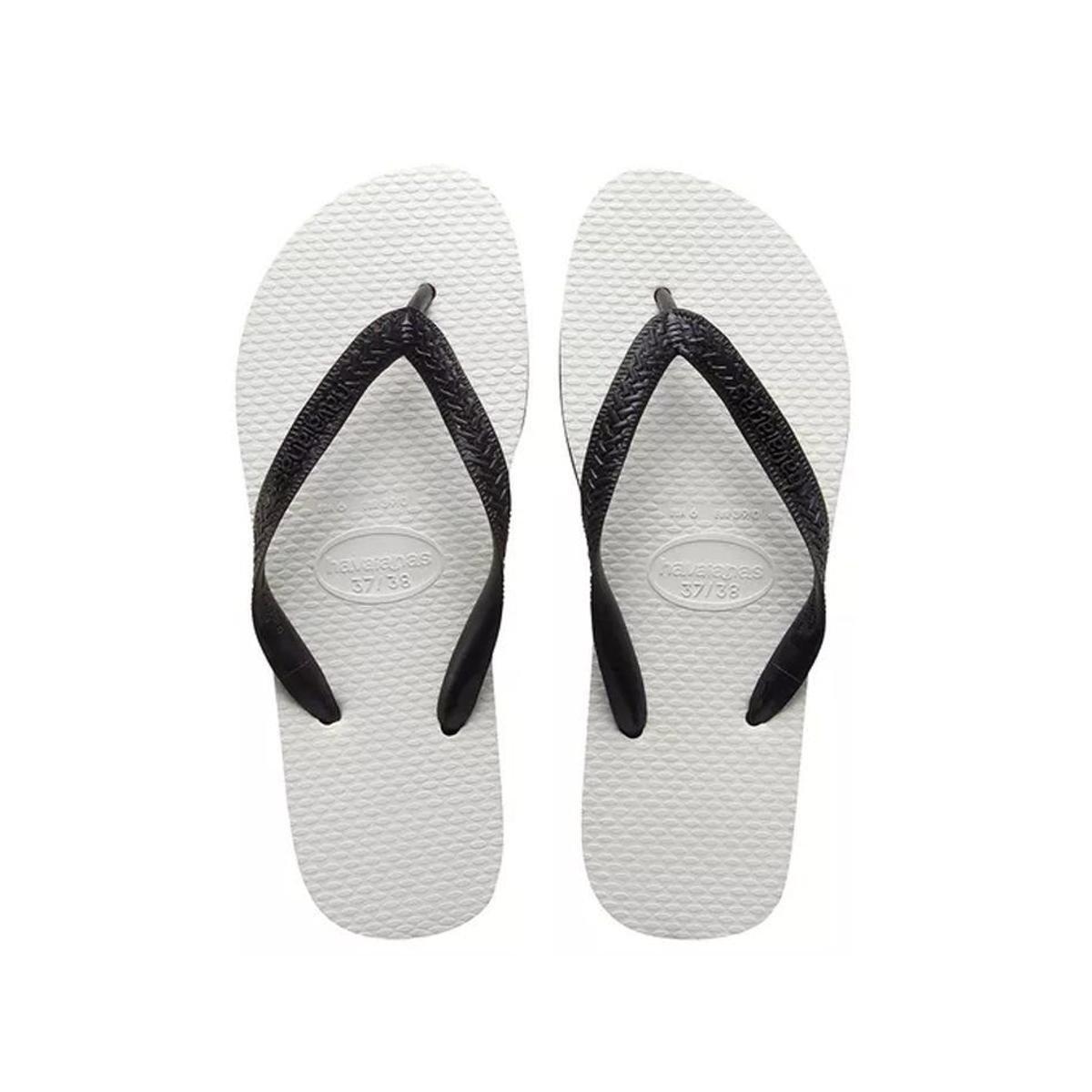 bec0ccc6f Havaianas Tradicional - Preto e Branco - Compre Agora