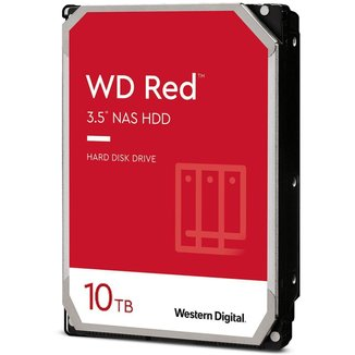 HD 10TB SATA - 5400RPM - 256MB Cache - Western Digital NAS RED - WD101EFAX