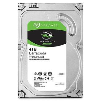 HD 4TB SATA - 5400RPM - 256MB Cache - Seagate BarraCuda ST4000DM004