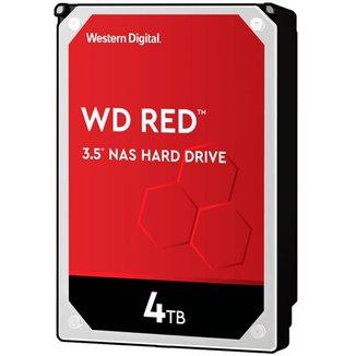 HD 4TB SATA - 7200RPM - 256MB Cache - Western Digital RED - WD40EFAX - NAS Storage