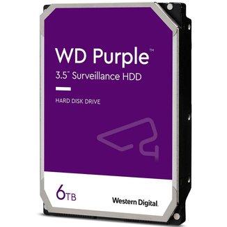 HD 6TB SATA - 5400RPM - 128MB Cache - Western Digital Purple Surveillance - WD62PURZ