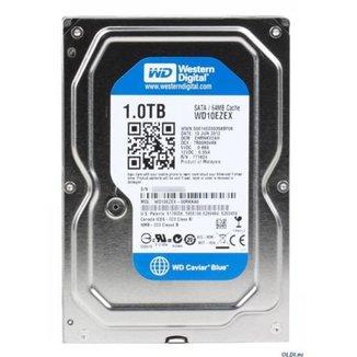 """HD WD Blue 1TB 3.5"""" Sata III 6GB/s, WD10EZEX"""