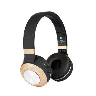 Headphone Fone de Ouvido Estéreo Bluetooth Sem Fio Metal Super Bass