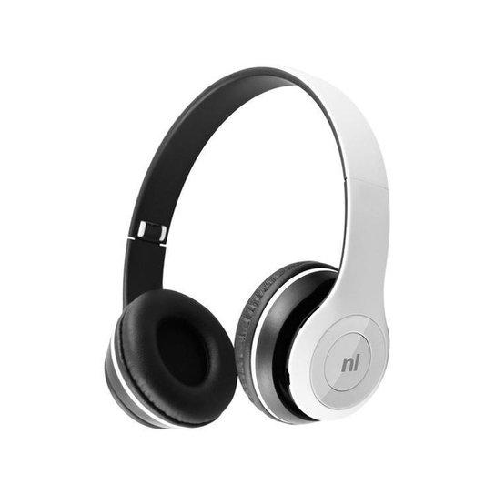 Headset Bluetooth Newlink - Branco