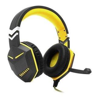 Headset Feir Fr-510 Gamer Com Microfone Ps4 xbox One E Pc - Amarelo