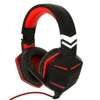 Headset Feir Fr-510 Gamer Com Microfone Ps4 xbox One E Pc - Vermelho