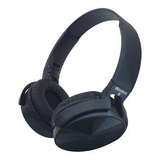 Headset Fone Com Microfone Microsd P2 Bluetooth Preto P36