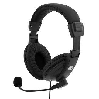 Headset Fone de Ouvido Estéreo P2 Office Regulável 507 Bright