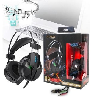 Headset Fone de Ouvido Gamer Jogos Microfone H9