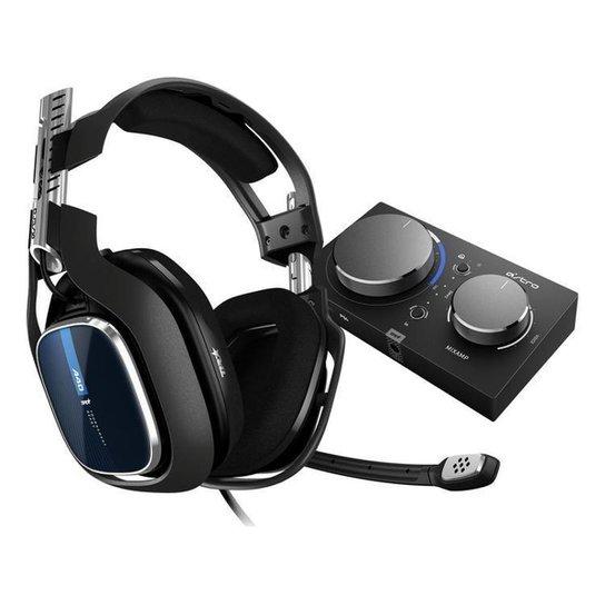 Headset Gamer Astro A40 + Mixamp Pro Tr - Preto