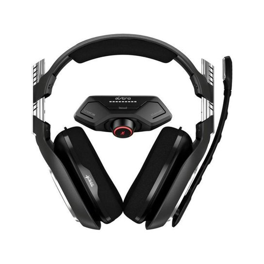 Headset Gamer Astro A40 TR + Mixamp M80 - Preto