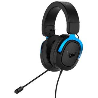 Headset Gamer Asus TUF Gaming H3 - com Microfone - 7.1 Canais - Conector P2 - Azul - 90YH029B-B1UA00
