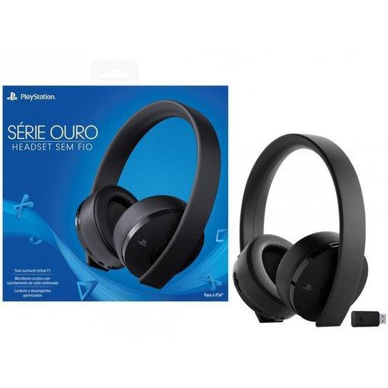 Headset Gamer Bluetooth Sony - Preto
