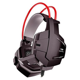 Headset Gamer C3 Tech Sparrow - com Microfone - Conector P2 - PH-G11BK