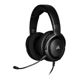 Headset Gamer Corsair HS35 Stereo PC/Mobile/XONE/PS4/Switch Preto Carbon Drivers 50mm, CA-9011195-NA