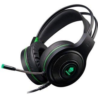 Headset Gamer Evolut EG301GR/Têmis Preto/Verde