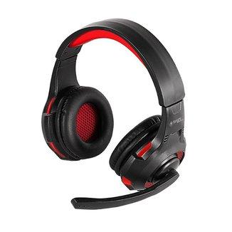 Headset Gamer Fone de Ouvido Com Led Vermelho P2 e Usb 468 Bright