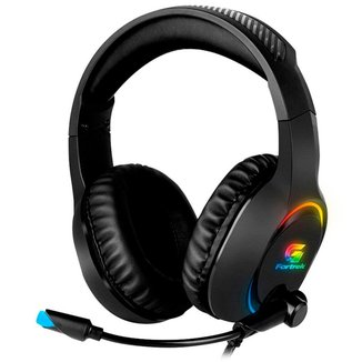 Headset Gamer Fortrek Holt - LED RGB - Conector P2 e USB - 70552
