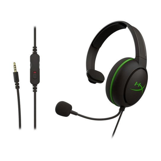 Headset Gamer HyperX Xbox One - Preto+verde