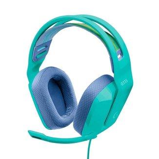 Headset Gamer Logitech G335 Verde