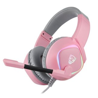 Headset Gamer Motospeed G750 Rosa 7.1 Rgb USB