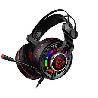 Headset Gamer Motospeed G919 Preto 7.1 Rgb USB