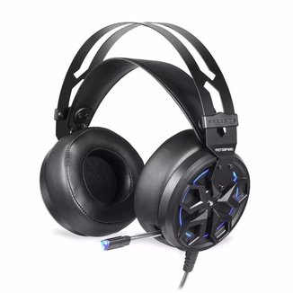 Headset Gamer Motospeed H60 Preto 7.1 Led AzulUSB