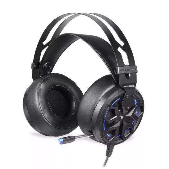 Headset Gamer Motospeed H60 Preto 7.1 Led AzulUSB - Preto