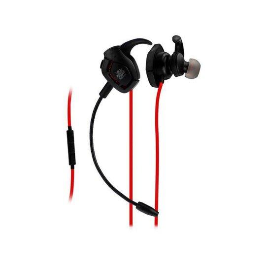 Headset Gamer Nemesis NM-1017 - Preto+Vermelho
