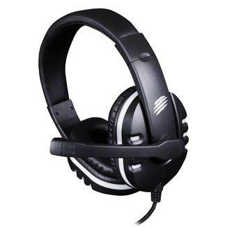 Headset Gamer OEX Action-X HS211 - Preto/Branco