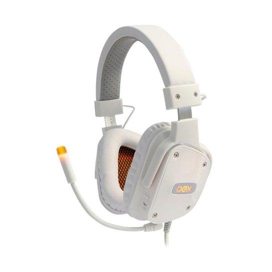 Headset Gamer OEX Shield HS409 Branco 7.1 USB - Branco