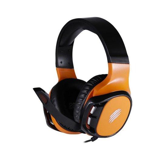 Headset Gamer OEX Wild HS411 Laranja Multiplataforma - Laranja