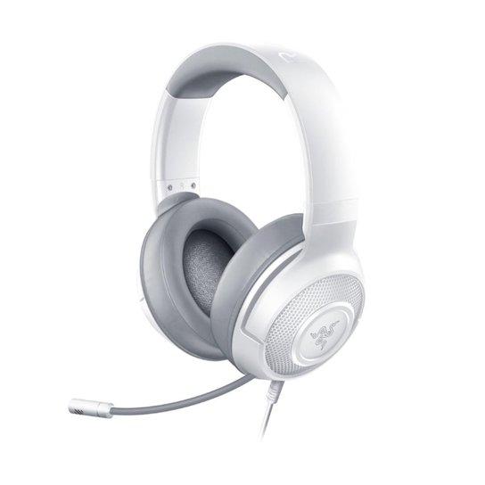 Headset Gamer Razer Kraken X Mercury P2 Branco - Branco